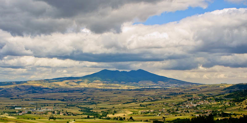 Monte Vulture | Monte Vulture is an extinct volcano in
