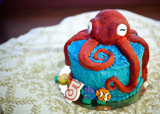 Octopus Birthday Cake Recipe