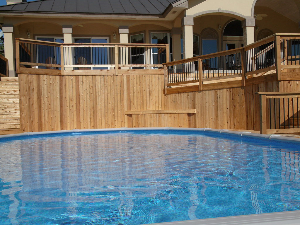 Oval Pool In Hill Country San Antonio 15x30 Ft Oval