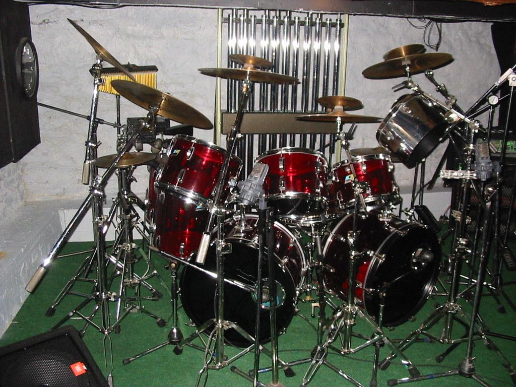 Ludwig Drums Wallpapers Drum Kit Ludwig Vistalite