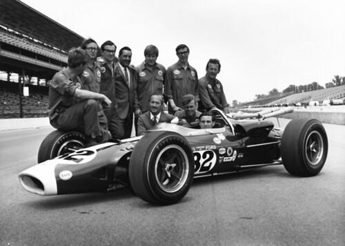 Lotus Race Car Indianapolis 500 1965 Thf74943 Jim