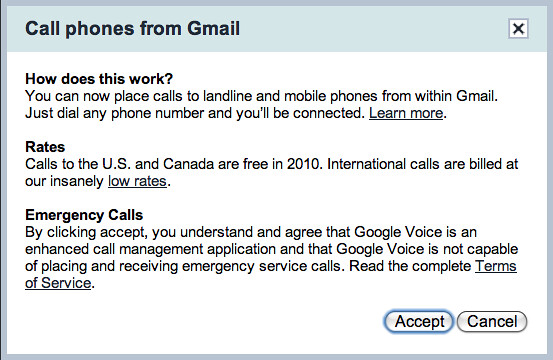 how to call usa from gmail for free