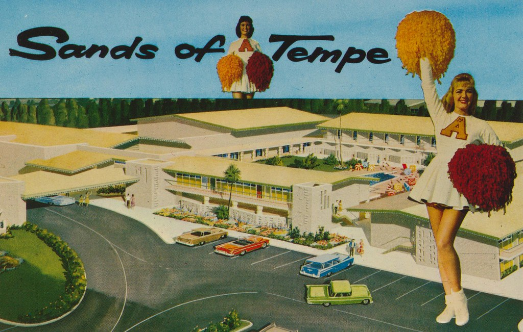 Sands of Tempe Motor Hotel - Tempe, Arizona