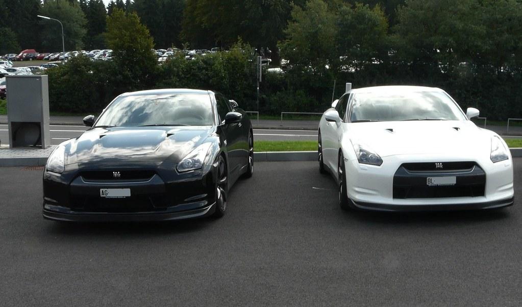 Nissan Gtr Black And White Vincent Flickr