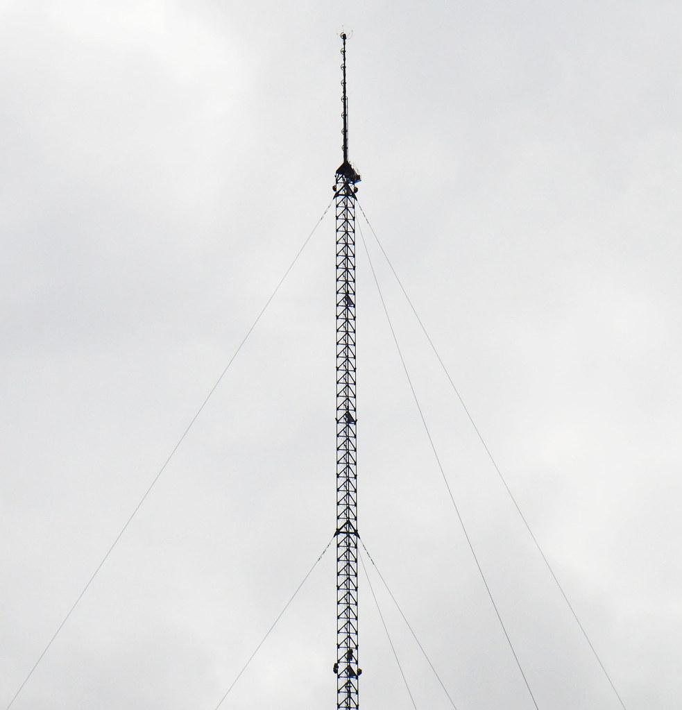 Radio broadcast tower