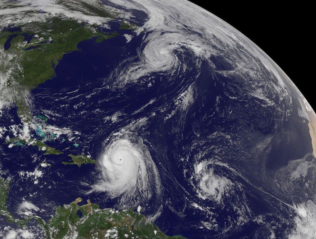 Biggest Hurricane From Space
