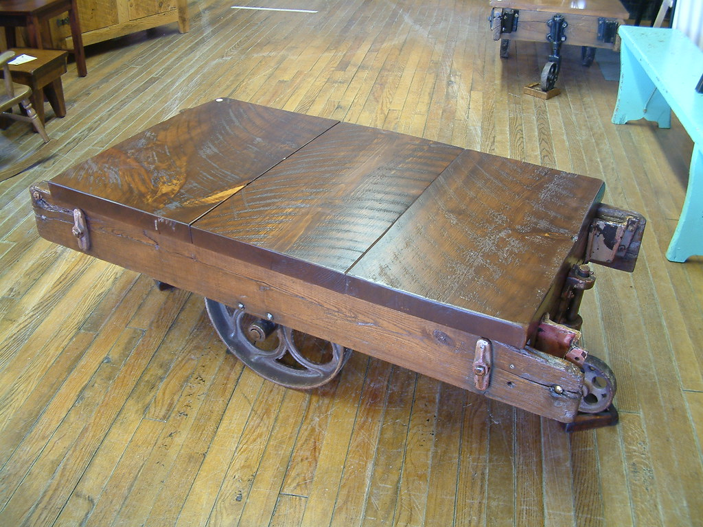... Old Cart Coffee Table | By By The Clyde Furnishings U0026 Artisansu0027 Gallery