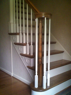 ... After Stair Fitter Retread   By NuSTAIR Retread Stairs