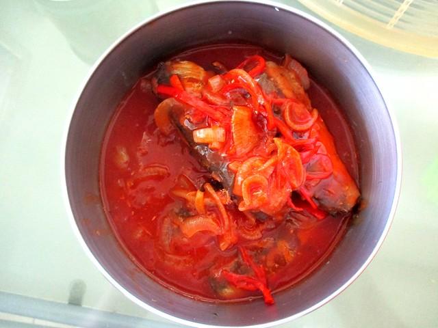 Sardines, cooked 1