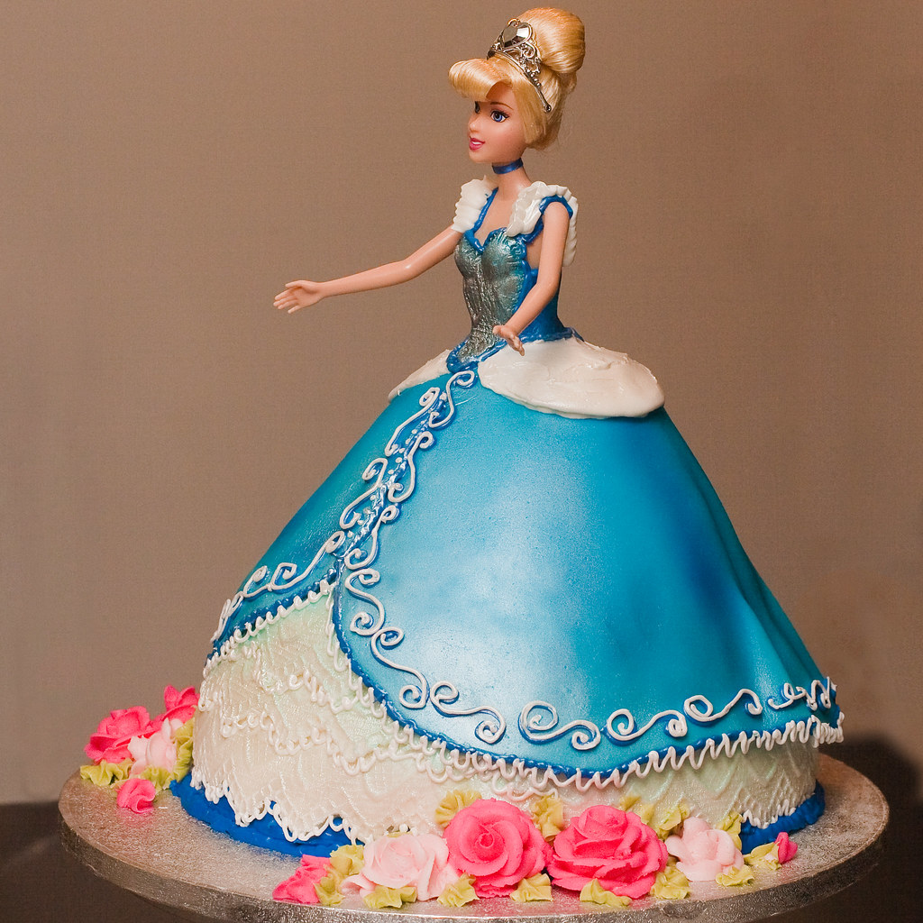 Latest Barbie Cake Design : Cinderella Doll Cake DWRowan Flickr