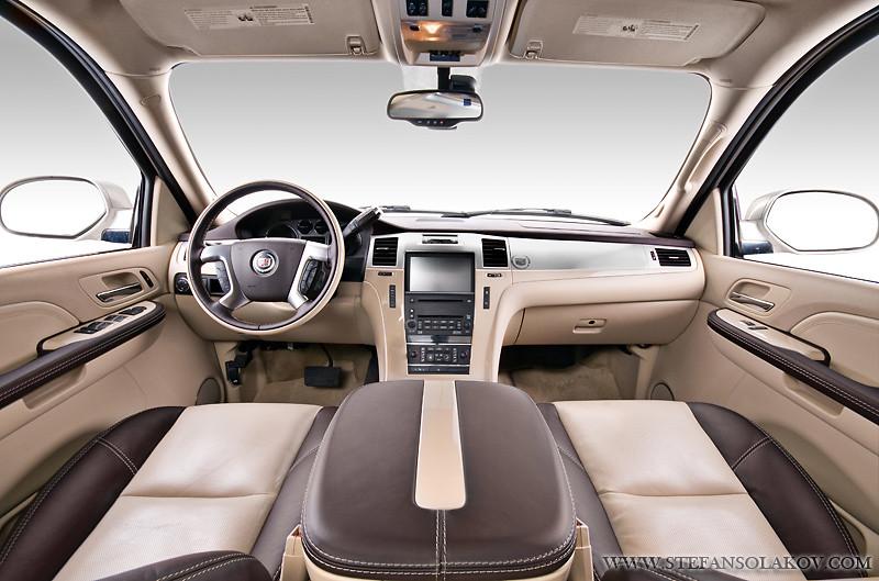 Custom >> Cadillac Escalade with custom interior | This Escalade has i… | Flickr