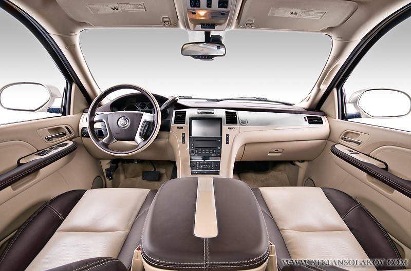 Cadillac Escalade with custom interior   This Escalade has ...