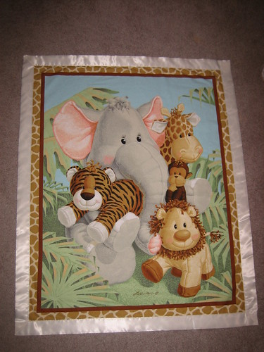 Jungle Babies Baby Blanket | by pelennor