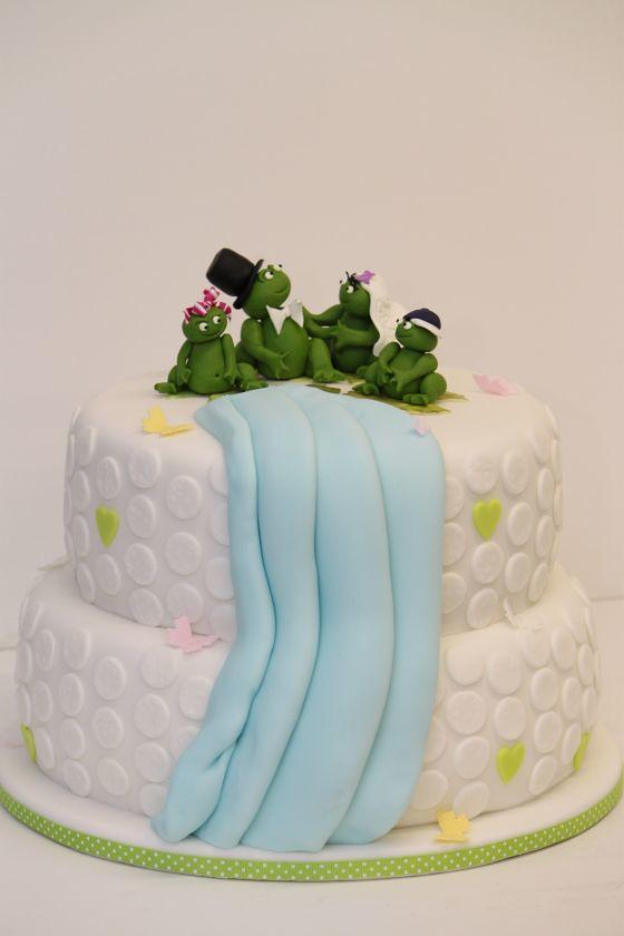 Hochzeitstorte 2 Stockig Froschfamilie Www Suess Und Salzi Flickr