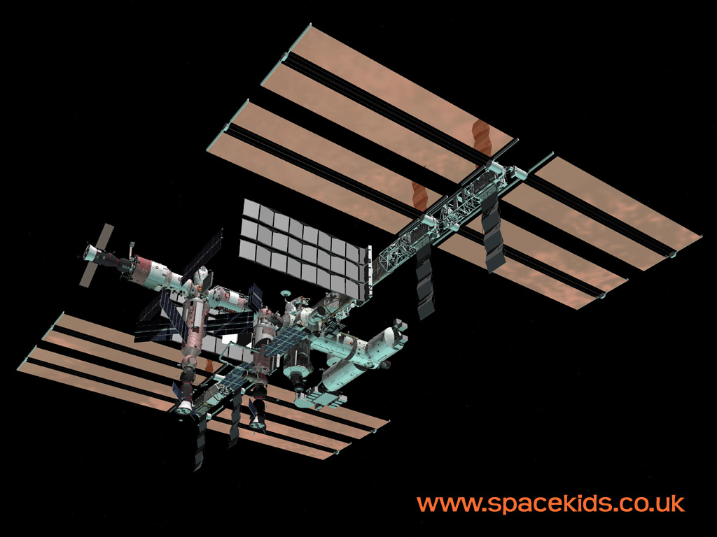 Iss wallpaper by spacekids the international space - Wallpaper iss ...