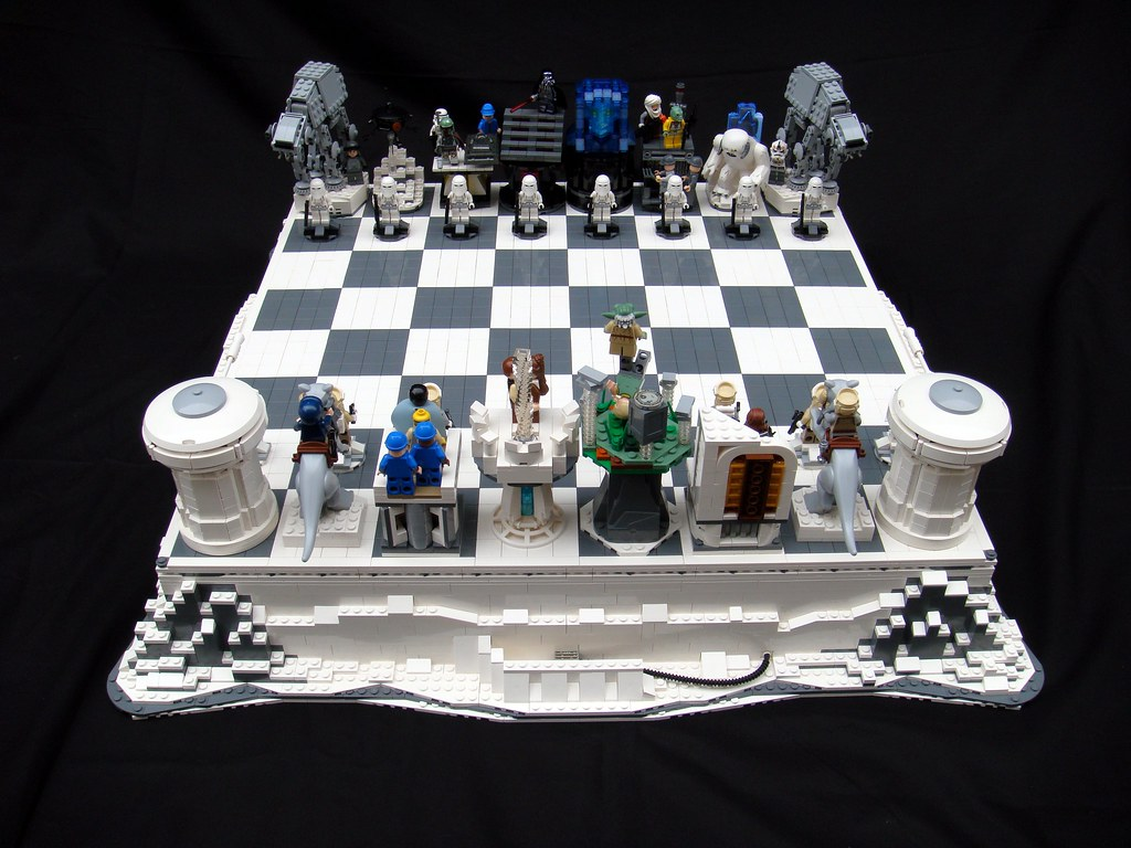 Star Wars The Empire Strikes Back Lego Chess Brandon