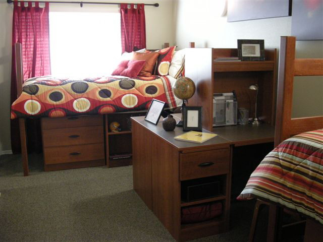 Quad Room In Honors Dorms Barrett The Honors College