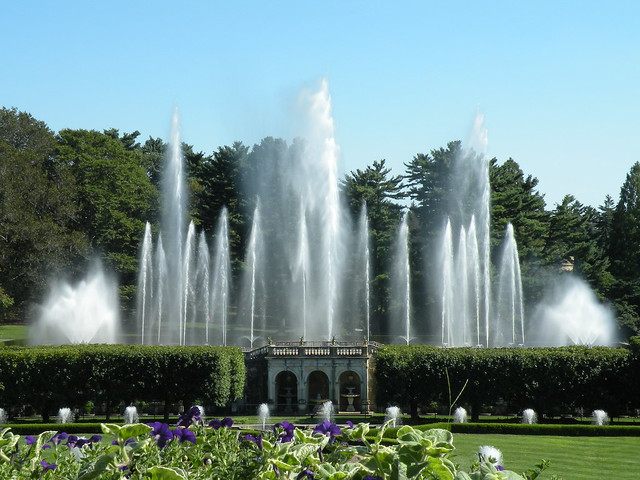 Main Fountain Garden Longwood Garden Main Fountain Garden By Liangjinjian Flickr Photo