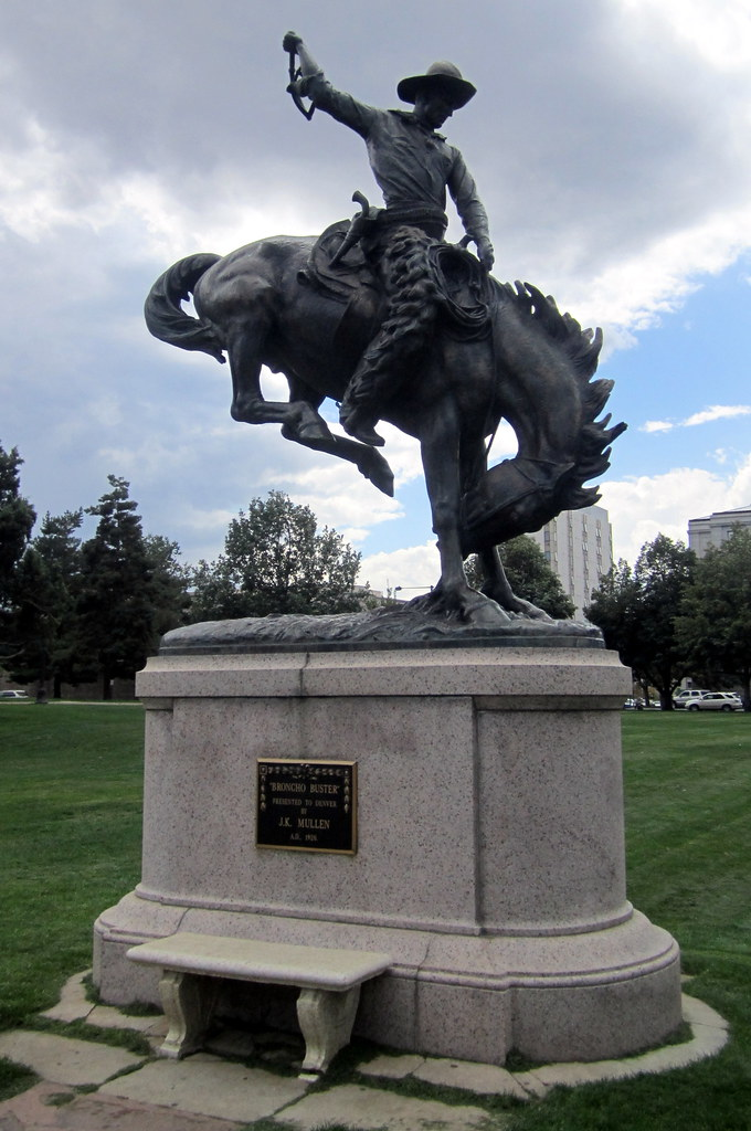 Denver Civic Center Civic Center Park Bronco Buster