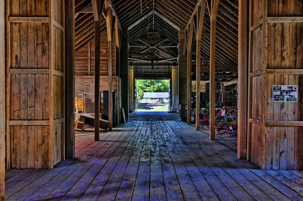 Inside Old Barn - HDR 2   Scott Vining   Flickr