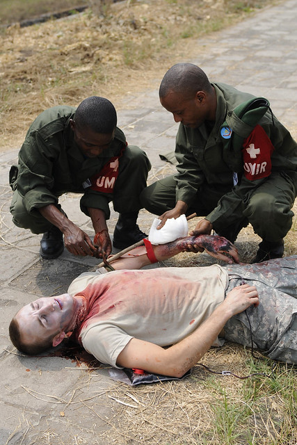MEDFLAG 2010, Medical Skills Exchange, Kinshasa ...
