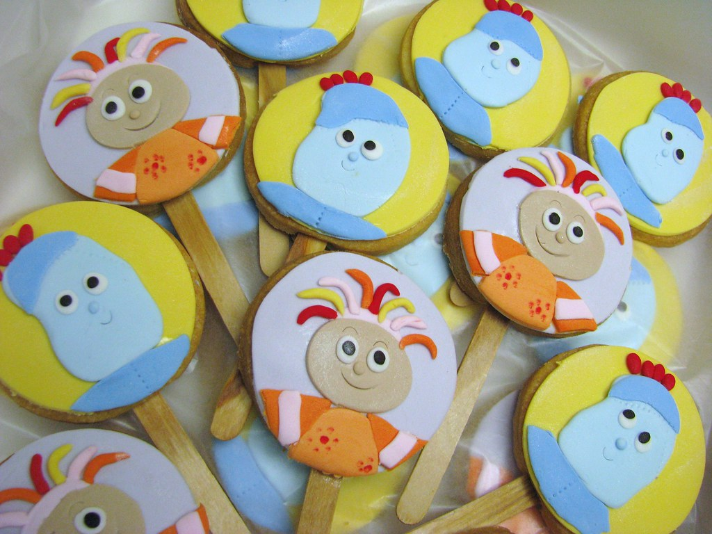 Iggle Piggle And Upsy Daisy Cookies 2