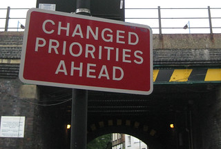 Changed Priorities Ahead | by add1sun