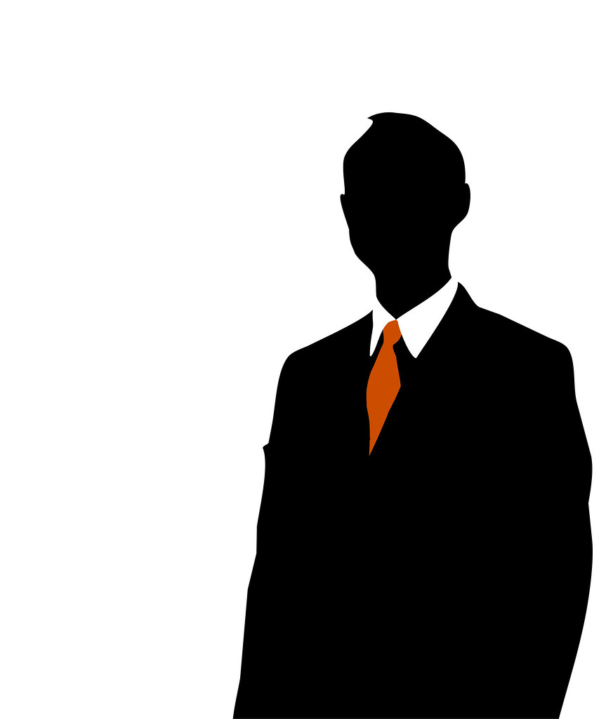 businessman silhouette silhouette of a business man flickr