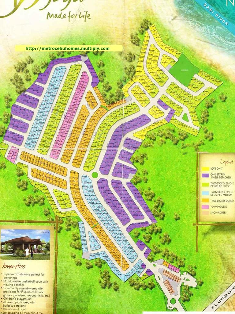 Development Map of Ajoya | Ajoya - House and Lots Barangay ...