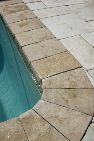 Custom Stone Swimming Pool Coping Arnoldmasonryandlandscap Flickr