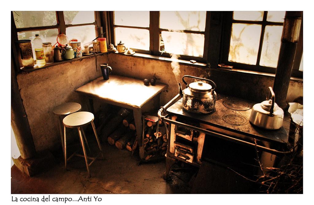 La cocina del campo de la casa de mi abuela materna a - Cocinas de campo ...