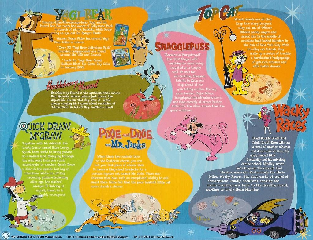hannabarbera boomerang from cartoon network publicity fly