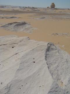 Acanaladuras eólicas - White Desert (Egipto) - 05