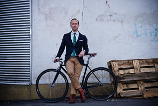 Helsinki Cycle Chic Photo Shoot | by Mikael Colville-Andersen