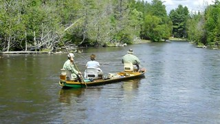 AuSable Riverboat fishing | by Grayling Visitors Bureau