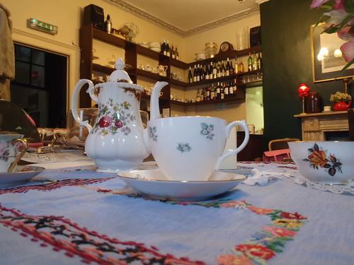 Secret Tea Room Christmas Afternoon Tea Menu