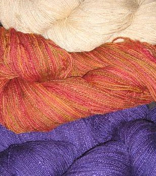 shawl yarns sept 2009 | by lambspin
