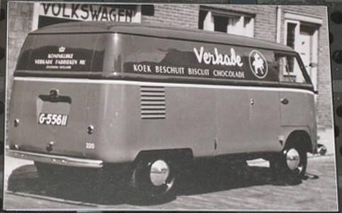 G 55611 Vw Transporter 1950 Carcheologisch Onderzoeker