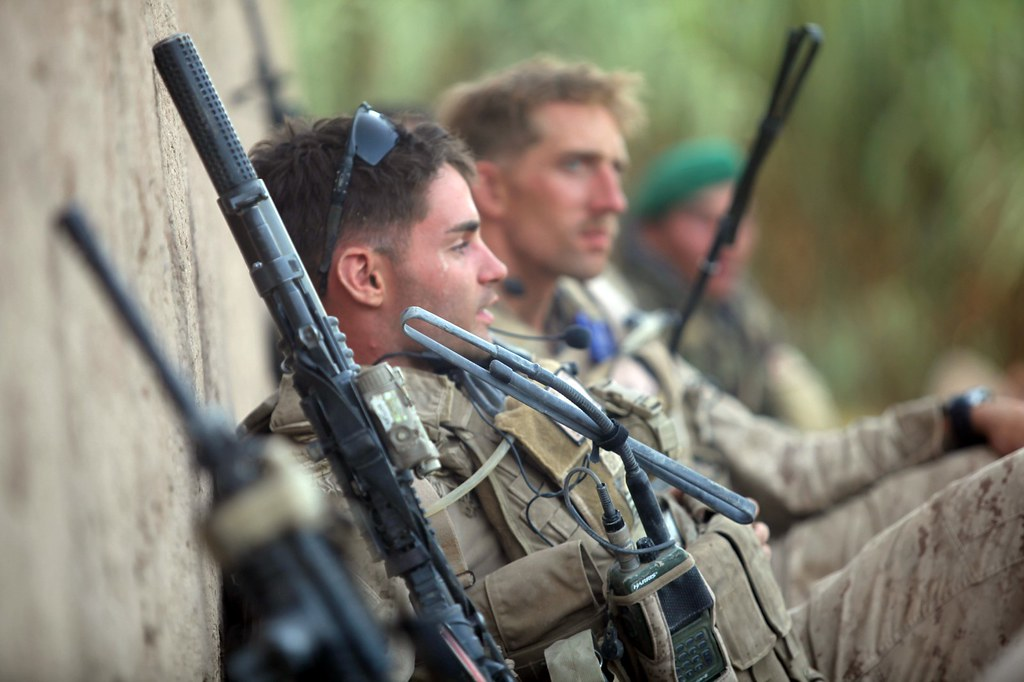 1st Reconnaissance Battalion operates in Trek Nawa