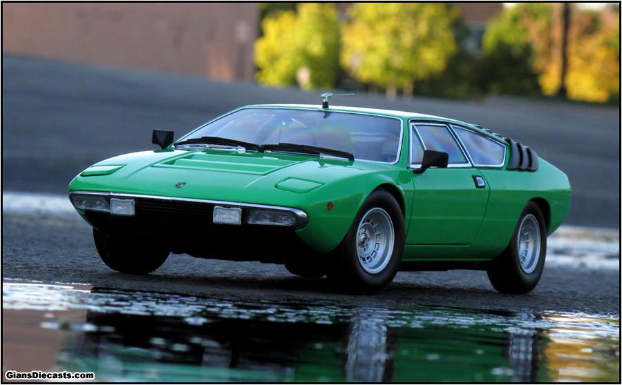 Lamborghini Urraco Green Save Our Oceans