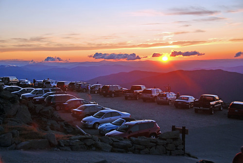 Nice clear sunrise from the top | by Mt.Washington Auto Road