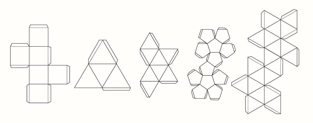 Геометрическая фигура куб своими руками 20