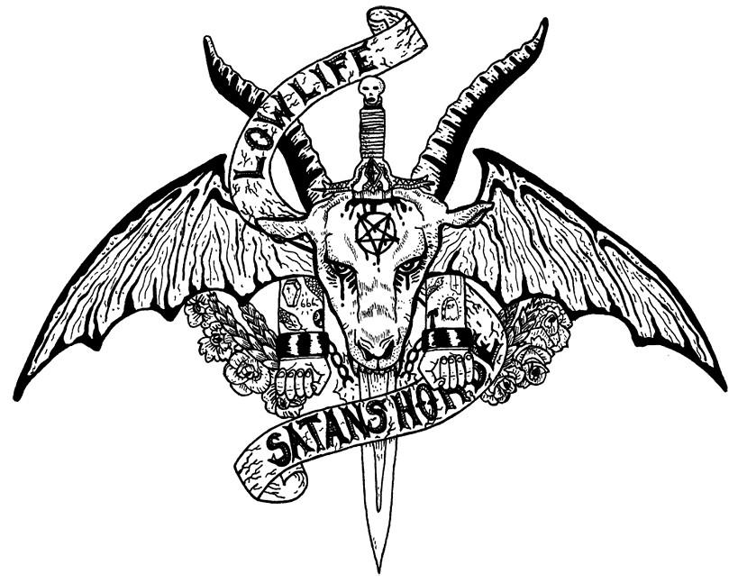Satanic Goat Skull Drawing | www.imgkid.com - The Image ...