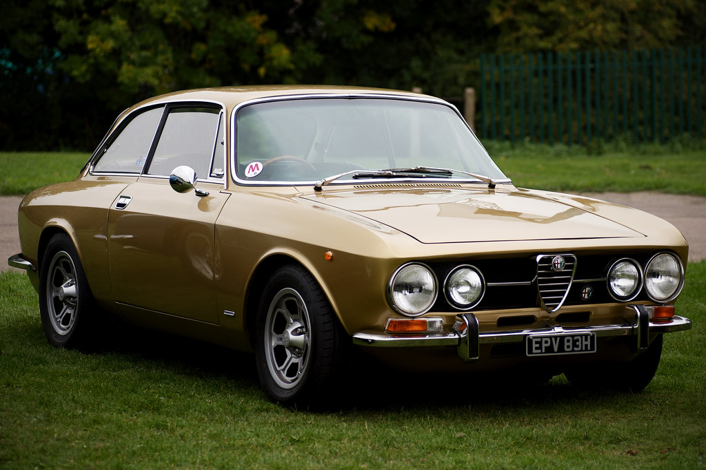 Alfa Romeo 1750 Gt Veloce Taken At The Thatcham Classic