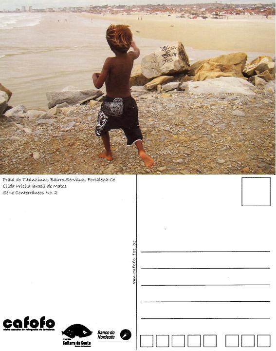 ... Detalhe do Cartão-Postal frente e costa  395e973143b2b