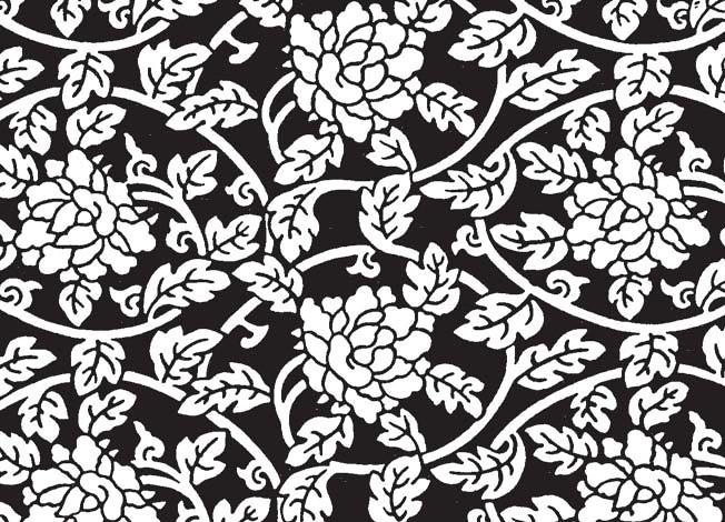 Chinese Flower Pattern Chinese Flower Pattern 17
