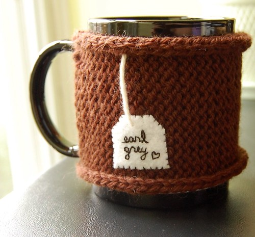 Earl Grey Love - Tea Cozy | by KnitStorm