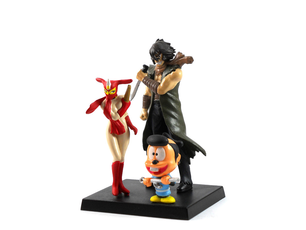 kekko kamen ... Violence Jack and Kekko Kamen toy figures | by Kaleicascope