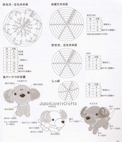 Ami Ami Dogs 2 By Mitsuki Hoshi Japanese Amigurumi Croch Flickr