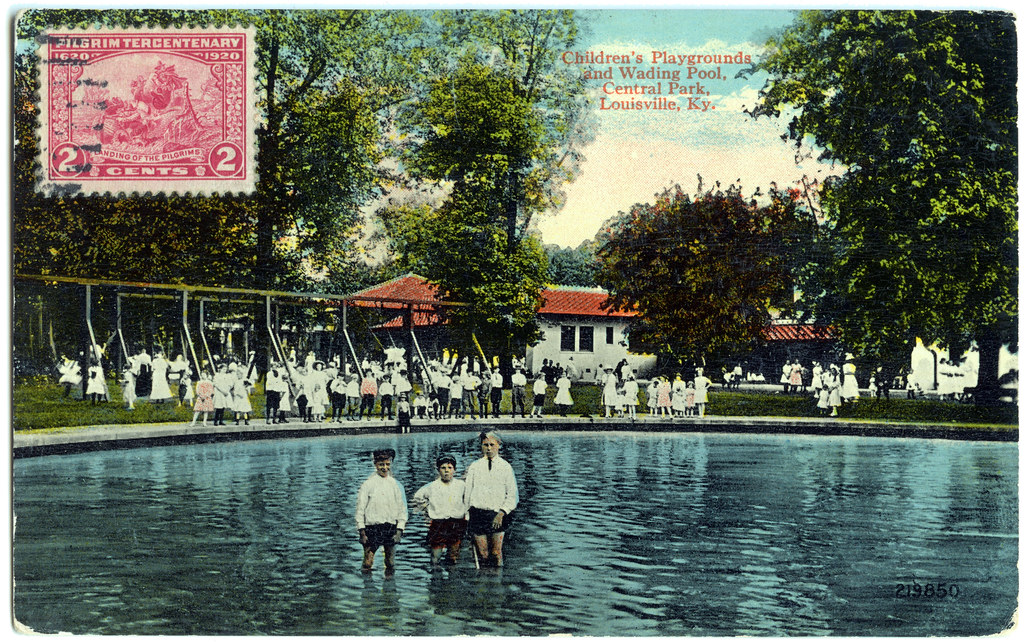 Children S Playgrounds And Wading Pool Central Park Loui